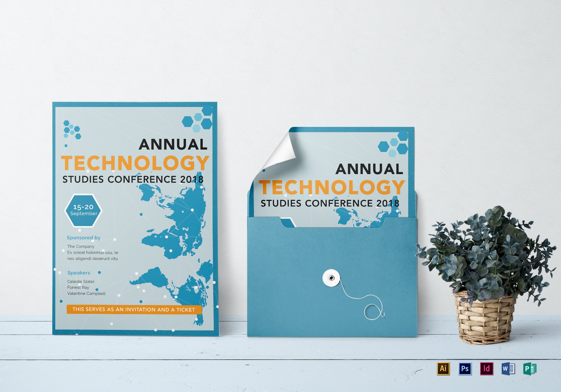 annual technology conference invitation example