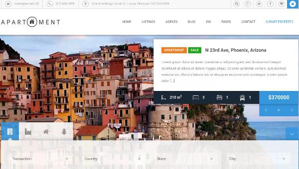 apartment wp – professional wordpress theme
