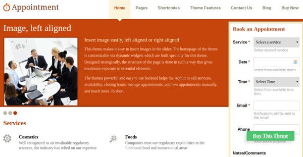 appointment-plugin-integration-wordpress-theme