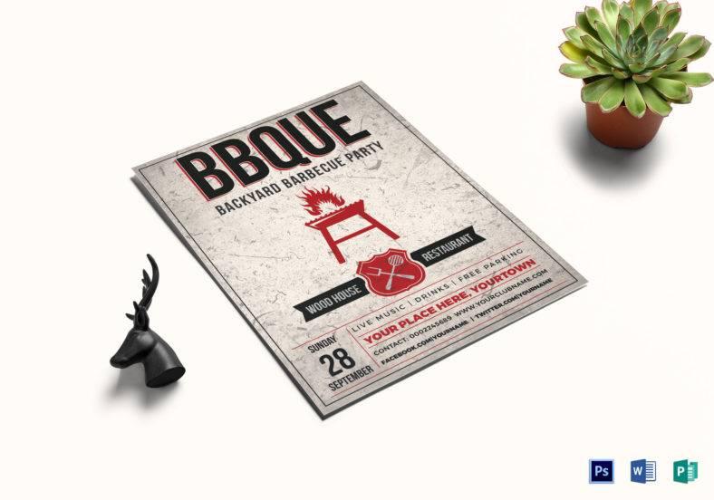 backyard bbq event flyer template 788x552