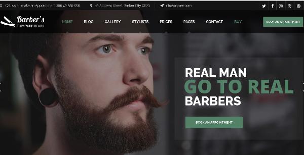 barber woocommerce wordpress theme