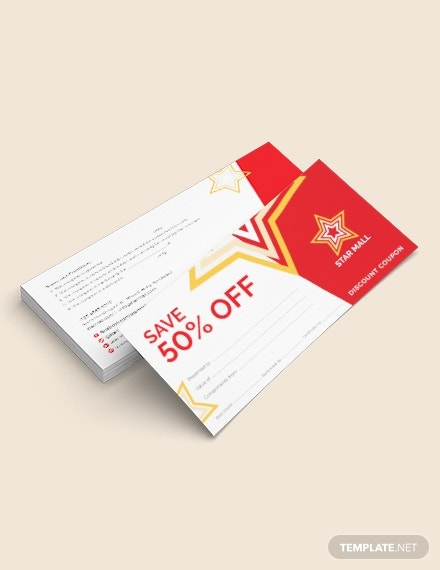 blank coupons template
