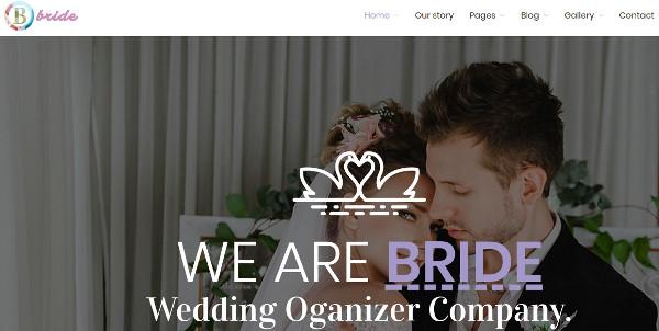 bride – creative and modern design wordpress theme