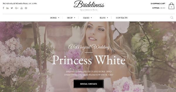 bridelines woocommerce wordpress theme
