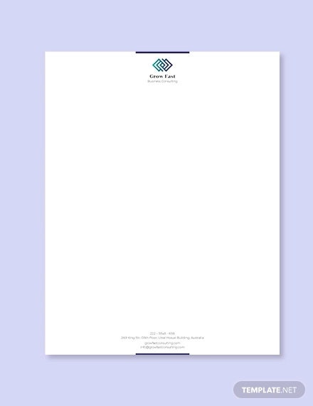 Free Company Letterhead Template Download from images.template.net