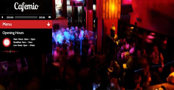 cafemio – easy nightclub wordpress theme