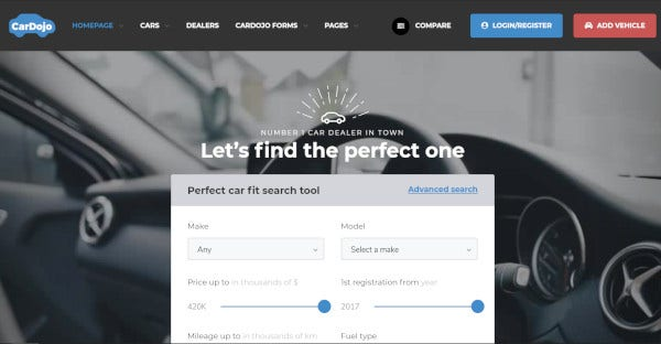 cardojo high end wordpress theme