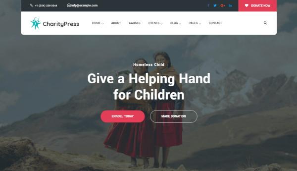 charitious-custom-wordpress-theme