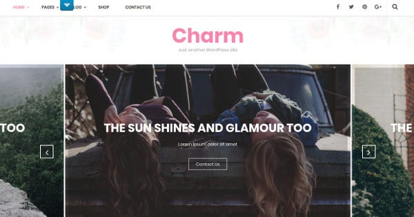 charm woocommerce wordpress theme