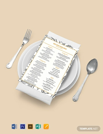 classic food and drinks menu template 440x570 1