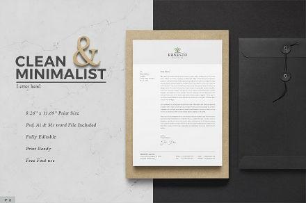 clean-and-minimalist-letterhead