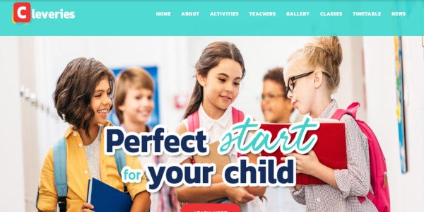 Cleveries- Daycare WordPress theme