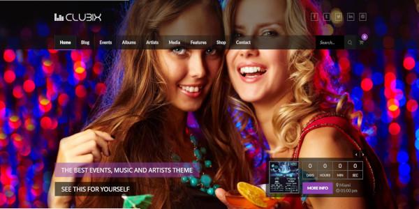 clubix – great nightclub wp theme