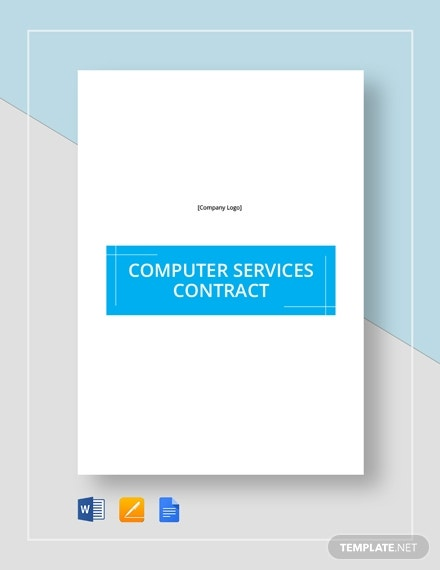 computer service contract 4