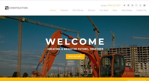 construction architecture wordpress theme1