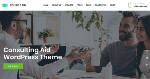 consult-aid-slider-revolution-wordpress-theme