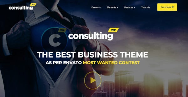 consulting – broker and consulting wordpress theme