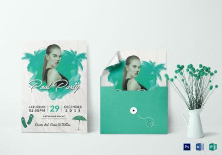 cool pool invitation design1