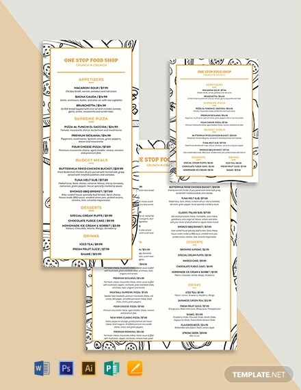 creative modern food and drinks menu template 440x570 1 1