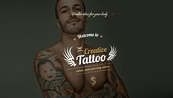 creative tattoo – seo ready wordpress theme