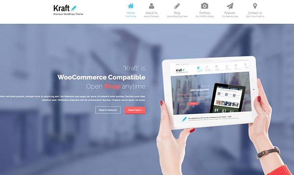 Kraft -Mobile-friendly Premium WordPress Theme