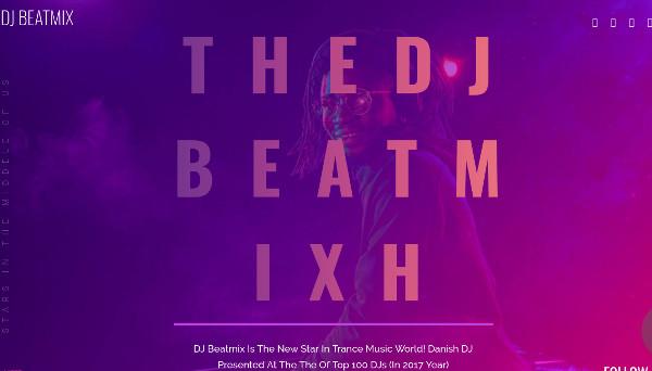 dj beatmix visual composer wordpress theme