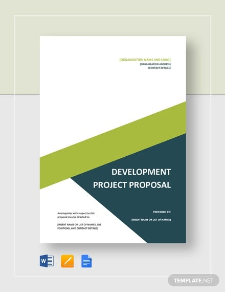 11+ Development Project Proposal Templates - Word, PDF