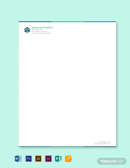doctor letterhead template1