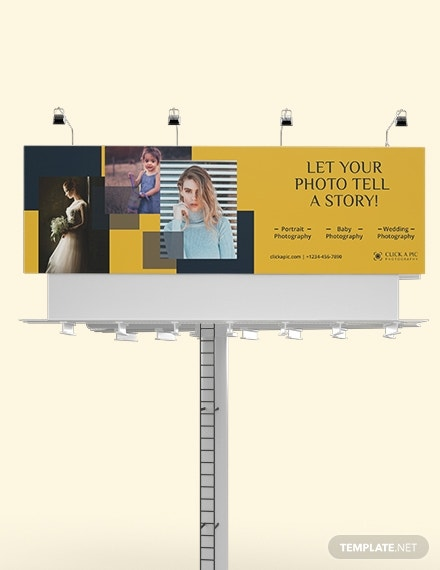 download photography billboard ad