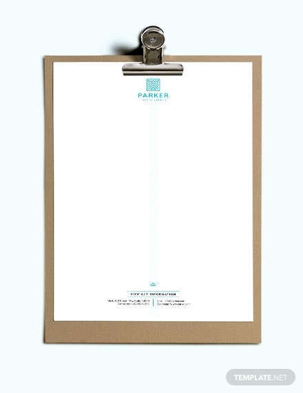 download travel agency letterhead template 1