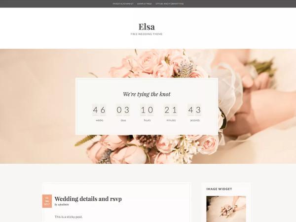elsa highly customized wordpress theme