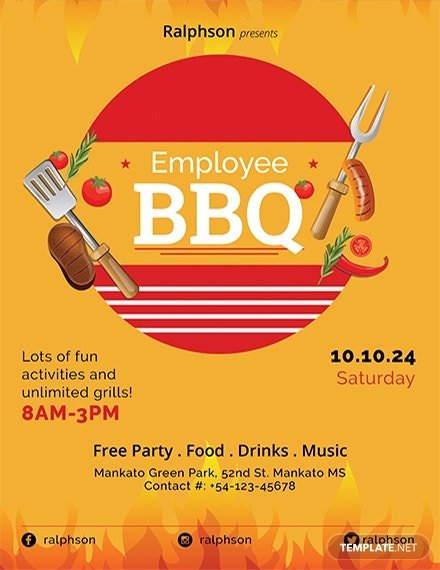 employee bbq party