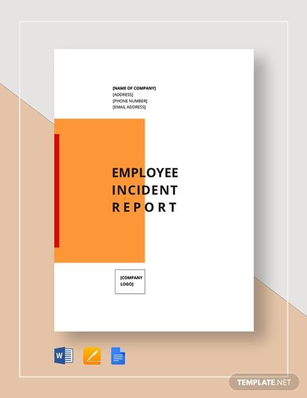 employee incident report 8
