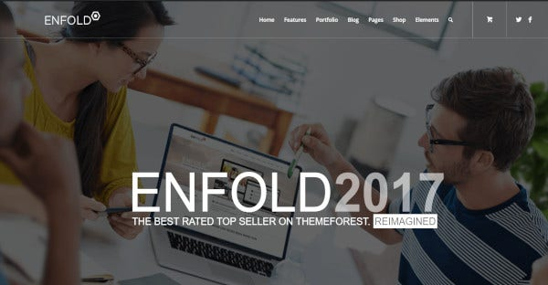 enfold – clutter free professional wordpress theme