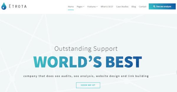 etrota best seo marketing wordpress theme