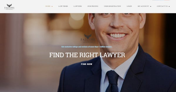 falcons – wp directory theme for lawyers