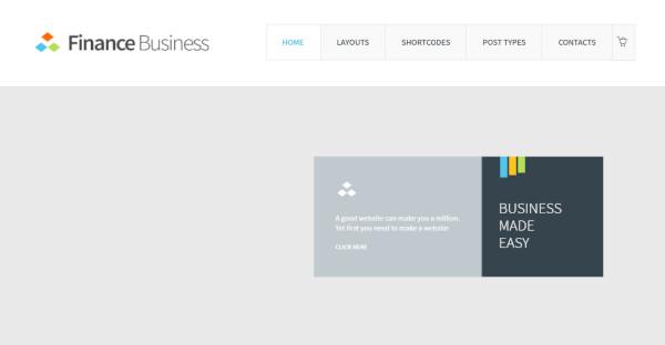 Finance Business – No Stress Perfect Finance WordPress Theme