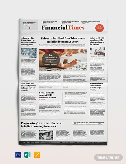 financial newspaper template 440x570 1