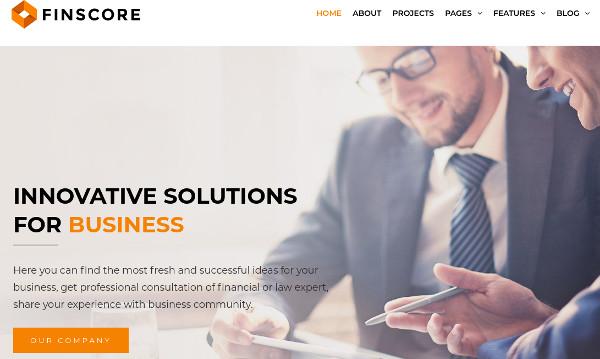 finscore-appointment-booking-wordpress-theme