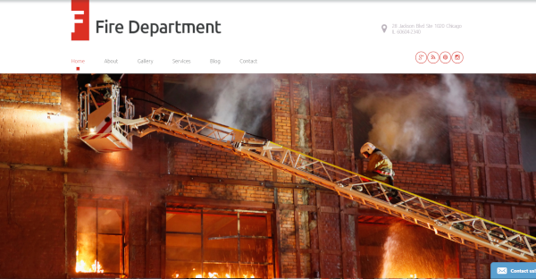 Fire Department – Security WordPress Theme
