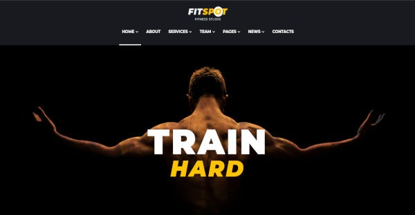 fitspot youthful wordpress theme for gyms