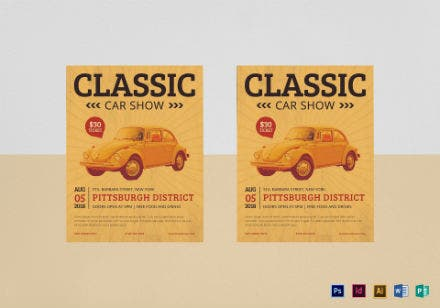flyer mockup classiccarshow vera 092217 6