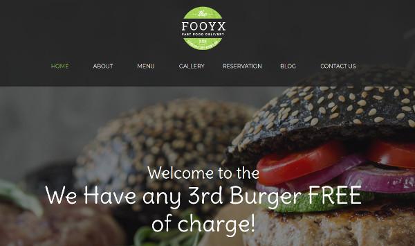 fooxy multiple customization options wordpress theme