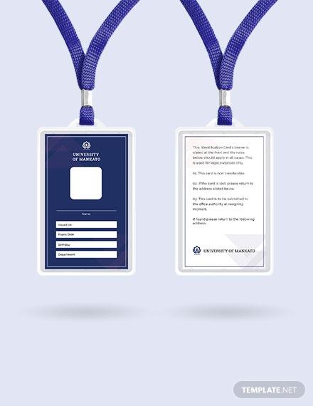 free blank id card template 1x1