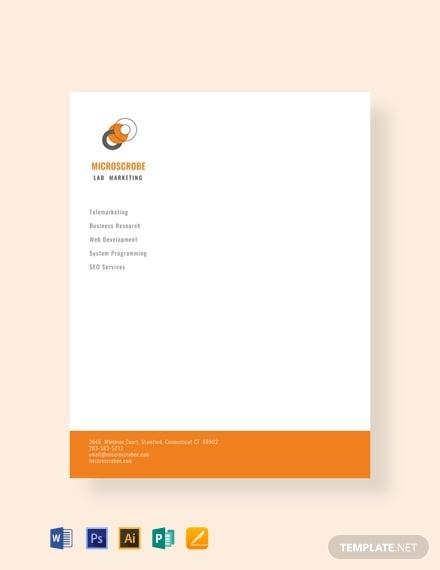 free-business-marketing-letterhead-template