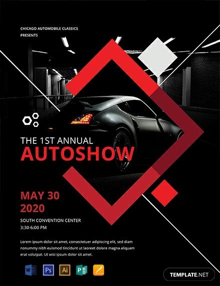 free car show flyer 440x570 1