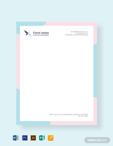 free-personal-letterhead-template