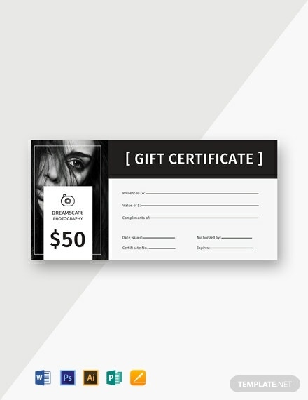 free photography gift certificate template 440x570 1