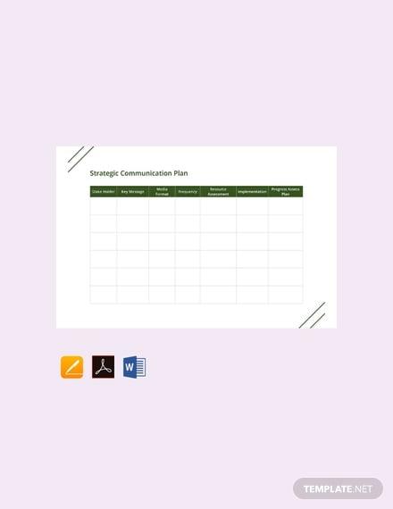 free strategic communication plan template 440x570 1