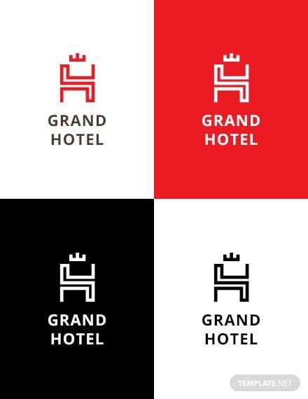 grand hotel logo example